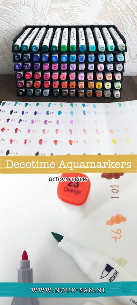 Decotime aquamarkers Action