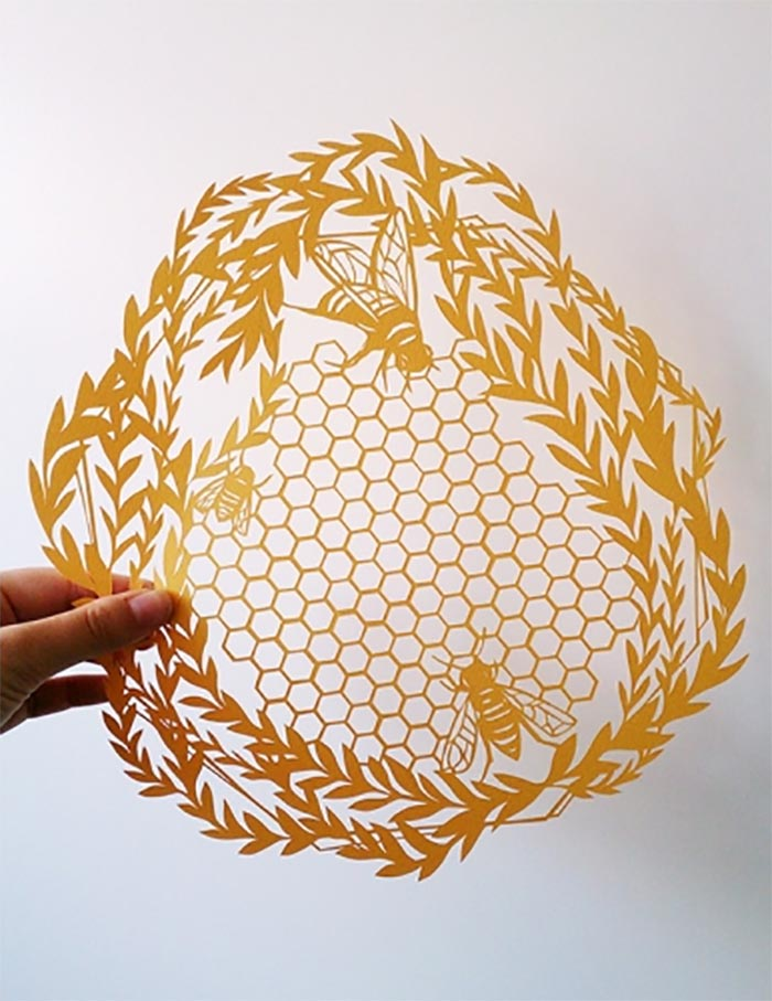 Illustreren met papier Monique van Uden