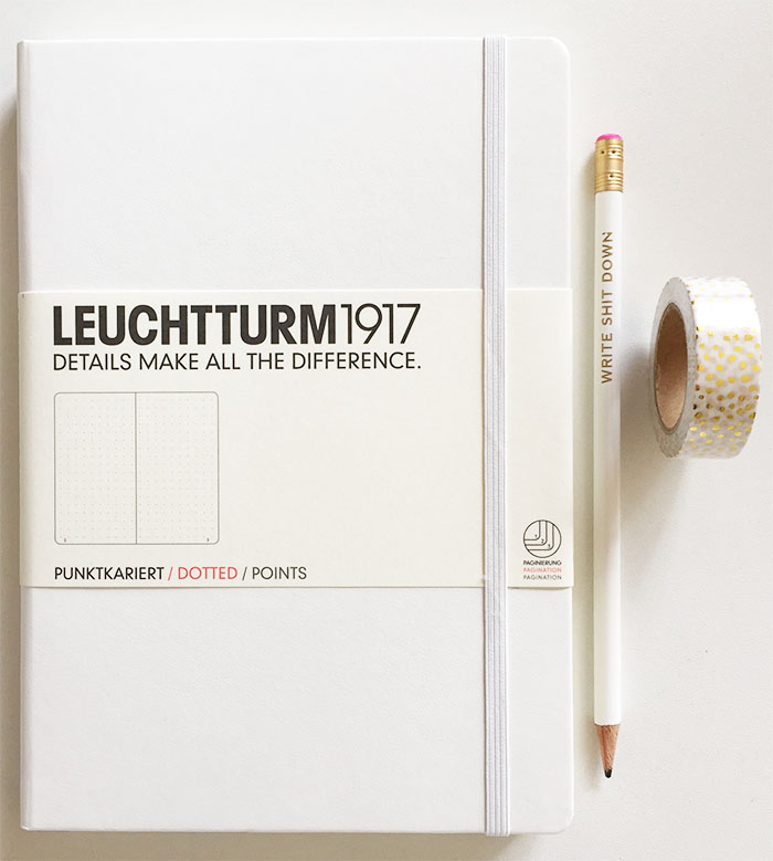 Leuchtturm1917: bullet journal notebook