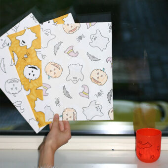 Printable papier Halloween