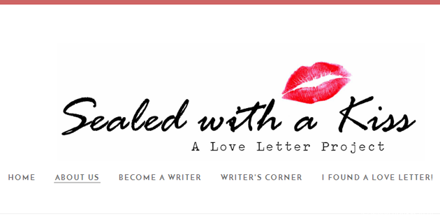 The Love Letter Project: Sealed With A Kiss