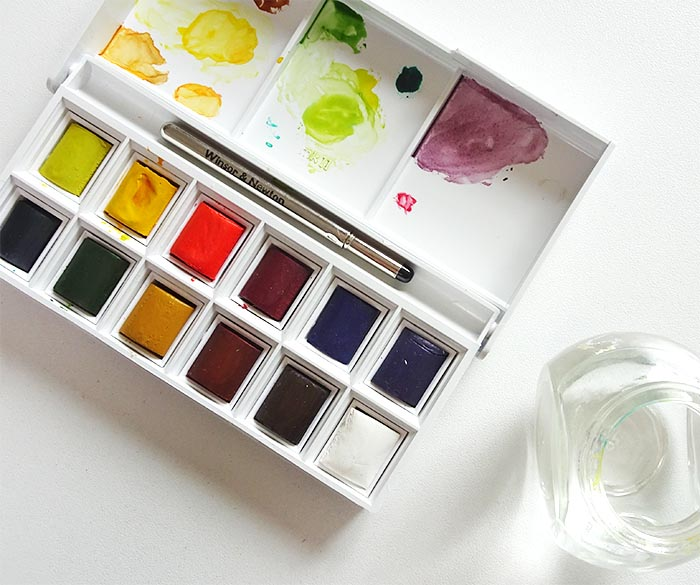 Winsor & Newton aquarel pocketbox